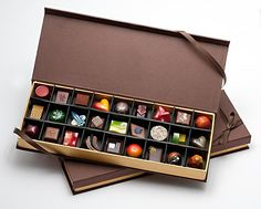 Chocolates: 27 Piece Box by DB Infusion Chocolates: Artisanal Chocolate available at www.artfulhome.com