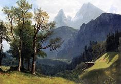 Albert Bierstadt Colorado | Albert Bierstadt Paintings & Artwork Gallery in Chronological Order