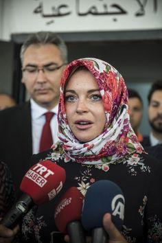 Lindsay Lohan em visita à Turquia (Foto: Getty Images)
