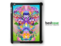 floral iPAD case  flower ipad cover anime inspired by BestCase, $24.99