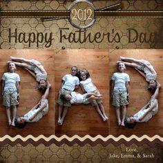 Cute Fathers Day idea