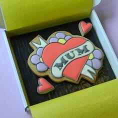MUM Tattoo Cookie Card