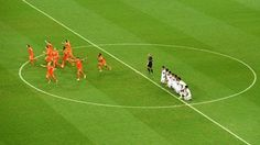 The Netherlands celebrate after defeating Costa Rica in a penalty shootout