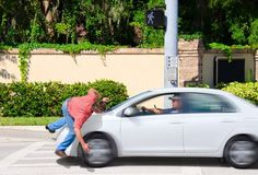 Most people assume that in an accident that involves a motor vehicle and a pedestrian, that the driver of the motor vehicle is automatically at fault for the collision. While negligence on the driver's part is a cause of many pedestrian accidents, this is not necessarily true in all cases. In some situations, the pedestrian is partly at fault — or completely at fault — for the accident.