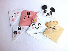 New origami envelope corner bookmarks 52 Ideas Creative Bookmarks, Cute Bookmarks, Corner Bookmarks, Diy Marque Page, Marque Page Origami, Bookmark Craft, Origami Bookmark, Envelope Origami, Diy Crafts For Kids