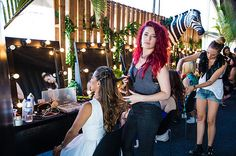 Blow Dry Bar Pop Up Shop at Future Music Festival Color Correction Hair, Bars Near Me, Future Music, Blow Dry Bar, Pop Up Bar, Hair Specialist, Long Hair Extensions, Hair Transformation, Beauty Bar