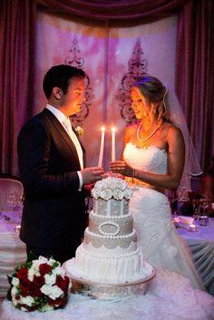 #sydneyweddingvenue#cake#candles#bride#groom#wedding