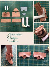 Fashion Dolls Couture - Unlimited: Hippies Time - Expolore the best and the special ideas about Fashion dolls Sewing Barbie Clothes, Barbie Dolls Diy, Barbie Shoes, Barbie Doll House, Barbie Dress, Doll Shoes, Diy Doll, Ag Dolls, Girl Dolls
