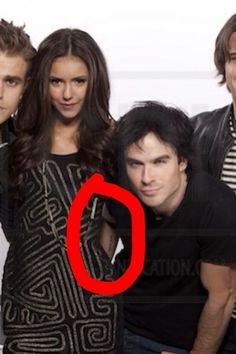 Photo of Ians hand! :D for fans of Ian Somerhalder and Nina Dobrev.