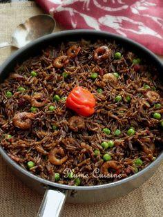 Riz-Djon-Djon (riz haïtien)