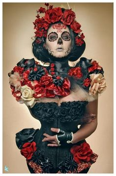 Day of the dead... love this day!!!  This is beautiful