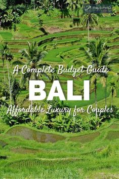 It's easy to travel Bali on a budget and surprisingly it's the best budget destination for couples. Live in the lap of luxury without breaking the bank Bali Travel, Luxury Travel, Amazing Destinations, Travel Destinations, Travel Guides, Travel Tips, Travel Abroad, Another A, Backpacking Asia