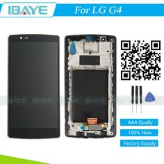 For LG G4 H810 H811 H815 LCD Touch Screen Digitizer Display Assembly Replacement & Frame Black