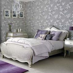 Silver Bedroom Decoration