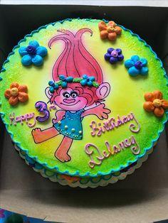 Poppy Trolls Birthday Cake Greggory's Pastry Shop Hadley, MA