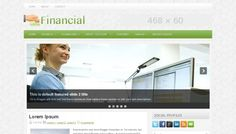 """""""Financial"""" template - have parent/children menus"""