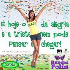"""#fitcamp """"Zumba Folia"""" ta chegando... música, dança, risadas, 1000 calorias a menos e grátis... Show! Saiba mais: fb.com/vidaativaesaudavel ... Taí um #desafiovip90dias mega animado com foco em #vidaativaesaudavel ... #focoemvidasaudavel #movimentese do jeito que quiser!  ... #herbalife"""