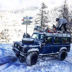 LandRover Nothing quite like clear directions to set your mind at ease