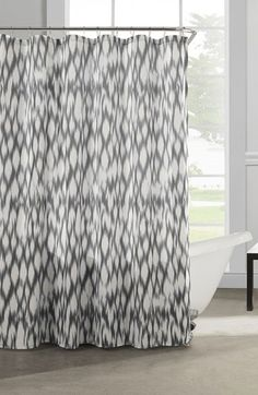 Free shipping and returns on kensie 'Caitlin' Shower Curtain at Nordstrom.com. A vivacious ikat-inspired geometric print defines a sweeping shower curtain designed to complement your bathroom décor.