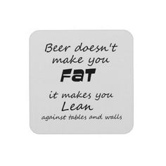 Unique funny beer quotes joke humor gift coasters