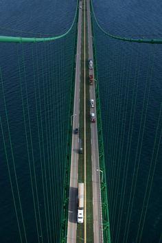 Aerial view big mac