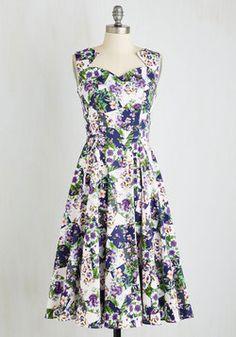 Blast of Botanical Dress