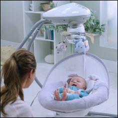 Fisher-Price Sweet Snugapuppy Dreams Cradle 'n Swing Baby Room Decor, Baby Bedroom, Baby Bath Bucket, Baby Life Hacks, Cute Baby Videos, Baby Bouncer, Baby Gadgets, Baby Swings, Baby Necessities
