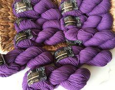 CASCADE YARNS 220 / Lt. Purple 8420 Lot # 9734 / Worsted Weight Yarn by dcoyshouseofyarn on Etsy