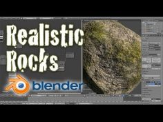 Cycles Textures Create Realistic Low Poly Rocks - Beginner Blender Tutorial - YouTube