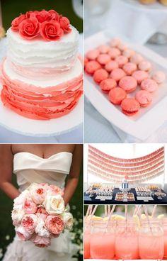 Inspirational Wedding Ideas : Peachy Keen