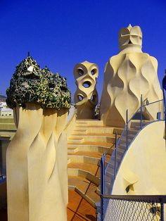 Um...thinking I want to add this to my bucket list places - Gaudi - Casa Mila