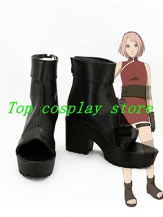 online shopping for Telacos NARUTO Anime The Last Haruno Sakura Cosplay Shoes Boots Custom Made high heel from top store. See new offer for Telacos NARUTO Anime The Last Haruno Sakura Cosplay Shoes Boots Custom Made high heel Cosplay Boots, Cosplay Outfits, Anime Outfits, Cosplay Girls, Cosplay Costumes, Cute Outfits, Naruto Cosplay, Naruto Costumes, Sakura Cosplay