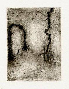 Bohuslav Reynek Závěj / Snowdrift suchá jehla / dry point 13,4 x 9,8 cm, 1961, otisk z původní desky, opus G 493