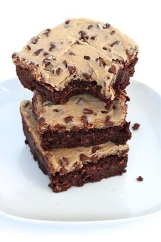frosted fudge brownies more cookie dough fudge cookie brownies cookie ...