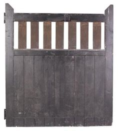 For Added Security And Style, Many Homeowners Put A Fence With A Wooden Gate  Around