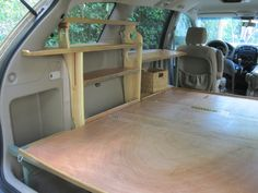 The Grove Guy's MINIVAN CONVERSION, with some relevant projects at the middle and bottom of this post!