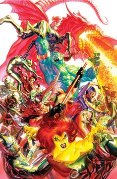 Kirby Genesis #7 cover •Alex Ross
