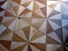wood parquet floors