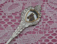 Kentucky Vintage Souvenir Spoon, Shovel Shape, Horsehead Emblem, Japan Made