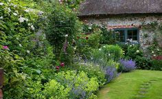 A quintessential English cottage garden brings to mind romantic planting, billowing with old-fashioned favourites. Find out how to achieve this look, wherever you live  ~ Great pin! For Oahu architectural design visit http://ownerbuiltdesign.com