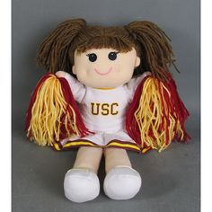 USC Bookstores, The Official Store of USC - USC Caucasian Cheer Doll