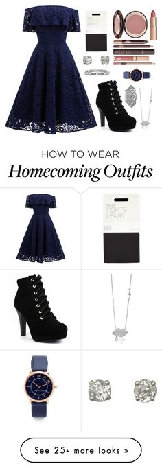 """Untitled #319"" by r00t on Polyvore featuring John Lewis, Charlotte Tilbury, Marc Jacobs and Nina"