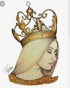 Imagem de nicki minaj, Queen, and drawing Black Girl Art, Black Women Art, Black Art, Art Girl, Nicki Minaj Cartoon, Nicki Minaj Drawing, Fille Gangsta, Trill Art, Celebrity Drawings