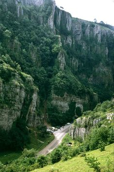 Cheddar Gorge, Cheddar, England. Went there when I was fairly little, and even then I remember it being very beautiful.