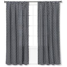 Woven Window Curtain Panel - Nate Berkus™ : Target ($30) ❤ liked on Polyvore featuring home, home decor, window treatments, curtains, target home decor, woven curtains, target panels, target curtains and target window treatments