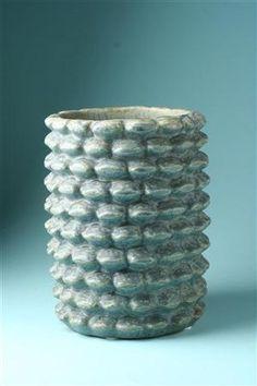 Vase, budding style. Designed by Axel Salto for Royal Copenhagen