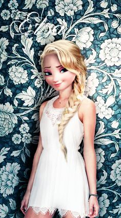 name Kayla has blonde hair bffs with elsa and color of life is blue