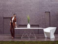 Mobiliario de exterior de diseño