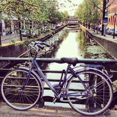 The Hague .. Netherlands .. Bike .. Canal