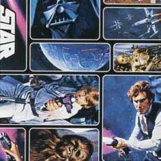 Original Star Wars Stoff - Polar Fleece - Han Solo, Darth Vader uvm.